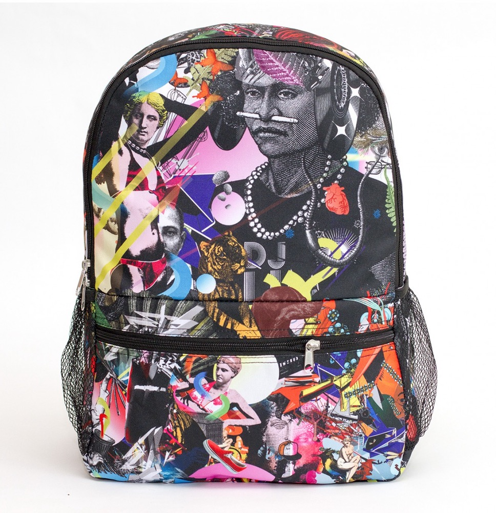 Popping Collage Backpack