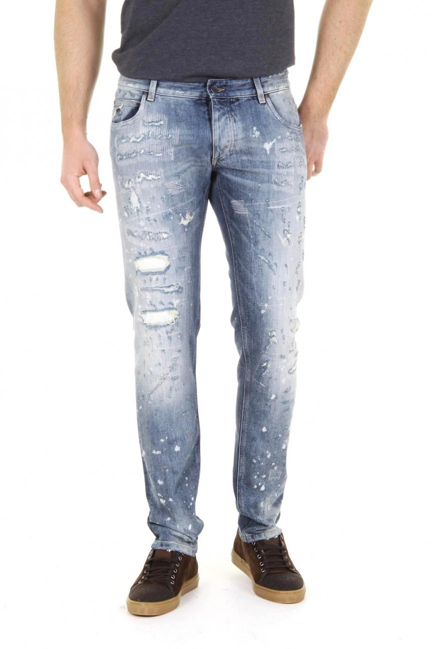 True Light Blue Dolce Amp Gabbana Mens Jeans