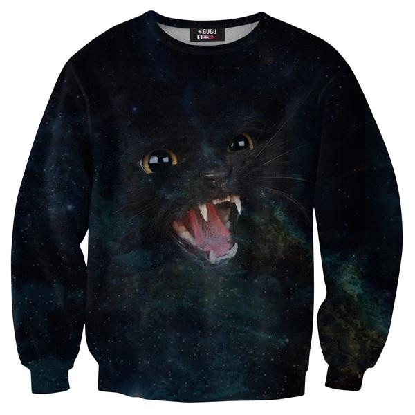 Wild Galaxy Cat sweater