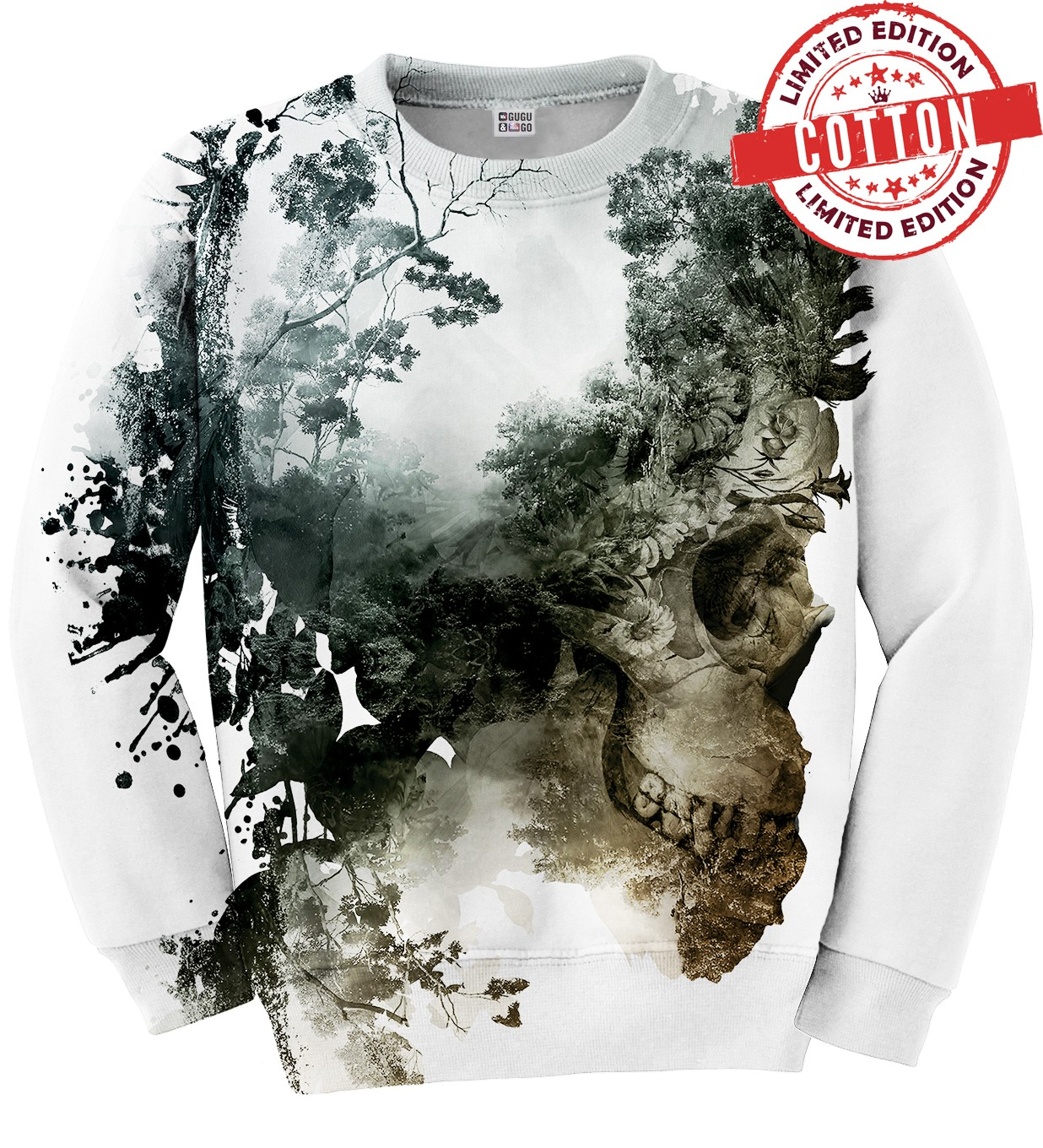 DEAD NATURE COTTON SWEATER