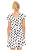 Happy Polka Dots Swing Dress