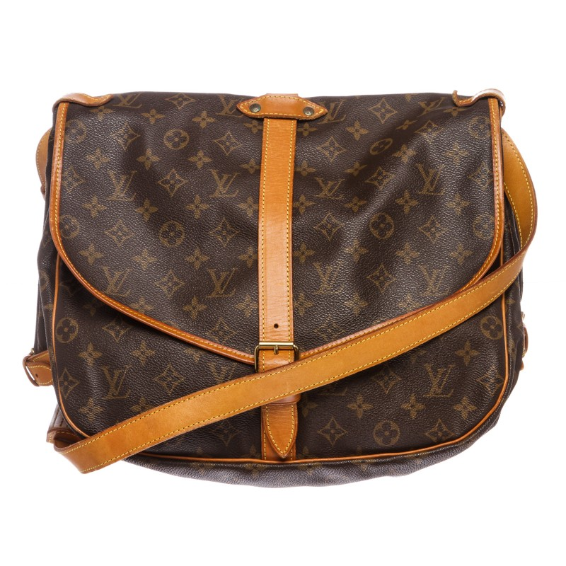 Louis Vuitton Monogram Saumur 35 Messenger Bag
