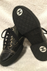 Chanel Coated Toile Lace Up Shoes