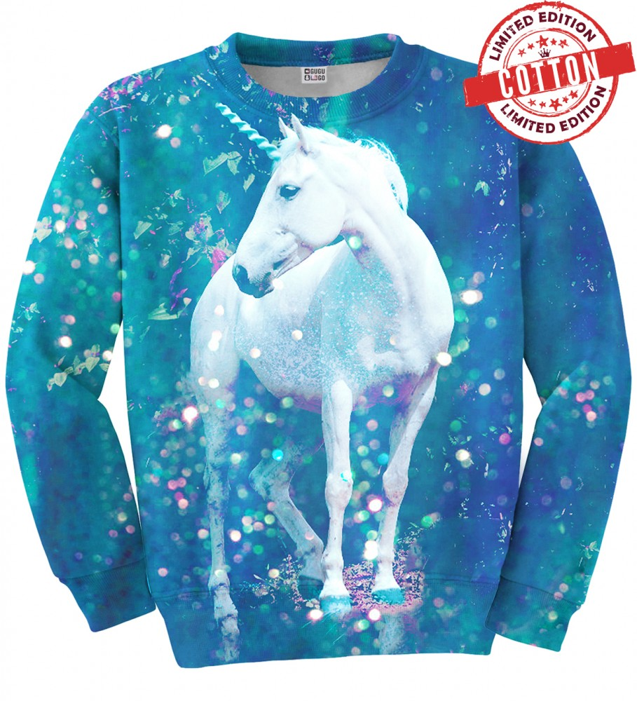 Unicorn Cotton Sweater